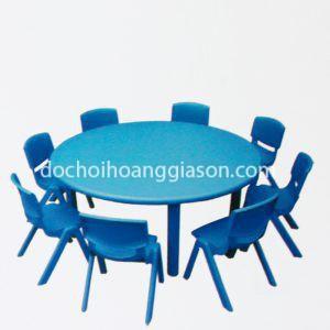 BG2304 - Bàn ghế nhựa tròn