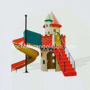 CT0701 - Bộ cầu trượt lâu đài