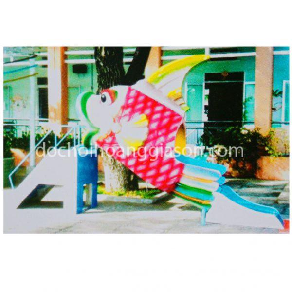 CT0726 - Cầu trượt con cá