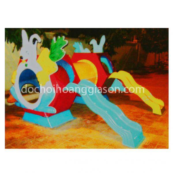 CT0741 - Cầu trượt thỏ ngọc đôi